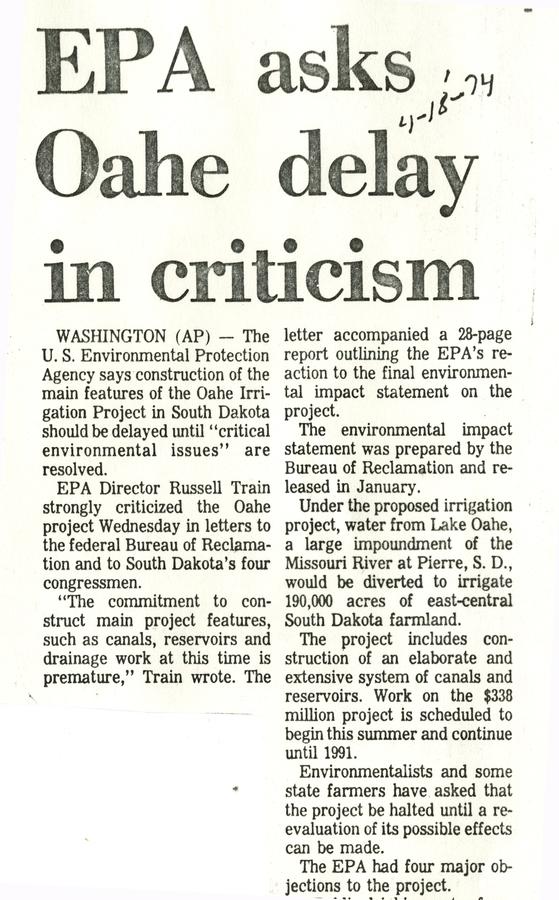 EPA concerns continue