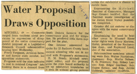 Opposition to irrigation